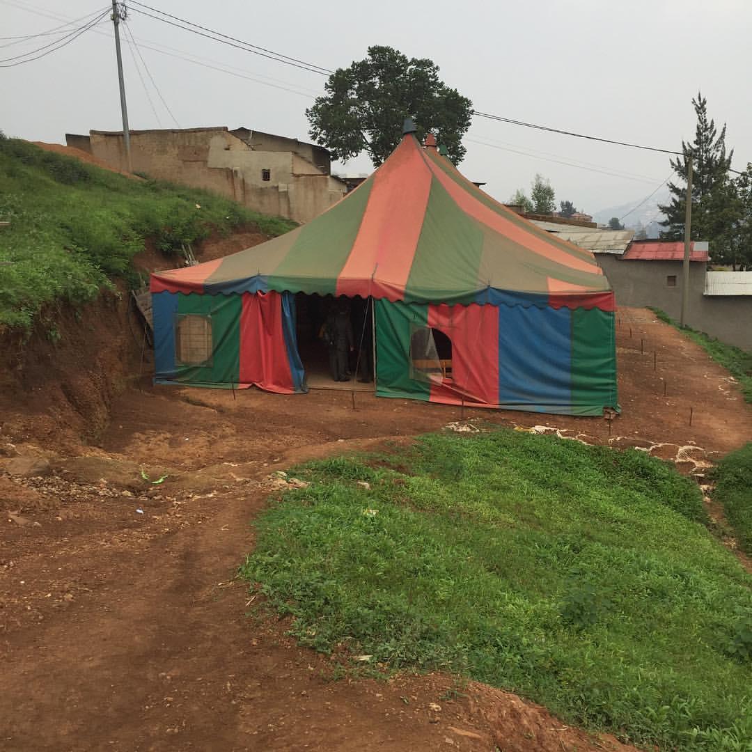 Sunday Worship in Rwanda