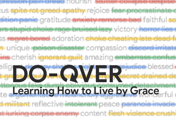 Learning How to Live by Grace: Part 1 Image